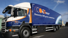 The HGVs taking part in the trial ranged from 12 to 44 tonnes. Image: Cenex