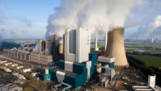 Pictured: One of RWE's coal-fired power plants in mainland Europe. Image: Greenpeace