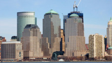 Pictured: The Manhattan Finance District. Image: Paulm27/ Wikimedia Commons