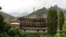 CDP estimates that the average company's supply chain emissions are 5.5 times that of its direct operations. Stock image of factory in China