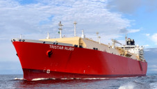 Tristar's vessel was originally built in 2008 and has been retrofitted for its new purpose as an LNG transporter. Image: Tristar