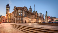 Town halls such as Birmingham (pictured) will be taking drastic action as they accelerate their journeys to net-zero with the climate emergency.
