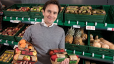 Iceland's MD Richard Walker (pictured) says the new formats collectively contain 93% less plastic than current packaging