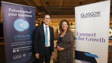 Pictured: LWARB chief executive Wayne Hubbard and GCOC's senior director Alison McRae