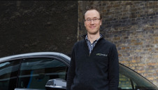 Pictured: Pod Point's founder and chief executive Erik Fairbairn