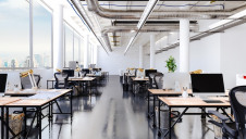The report claims that the average flexible working centre can help generate carbon emission savings of 118 metric tonnes annually between now and 2029