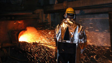 Pictured: Glencore's Ferrochrome smelter in Lydenburg, South Africa