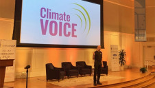 Weihl launched the new venture on Saturday (22 February). Image: ClimateVoice