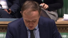 Environment secretary George Eustice in the House of Commons presenting the Environment Bill at its second reading.