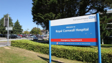 The commitment builds on Cornwall Council's plan to reach net-zero operational emissions within a decade. Image: Royal Cornwall NHS Hospital