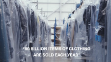 Surfdome found that the polybags only account for 5% of a garment's overall carbon footprint. Image: Surfdome