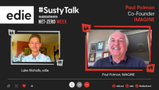 edie's content director Luke Nicholls spoke with IMAGINE co-founder Paul Polman for a special episode of #SustyTalk on Thursday