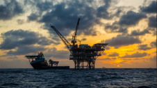 Pictured: One of BP's ofshore platforms in Trinidad & Tobego. Image: BP