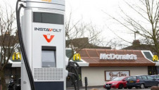 McDonald's UK & Ireland has announced a new ambition to host more EV chargers than any other business in the nation. Image: InstaVolt