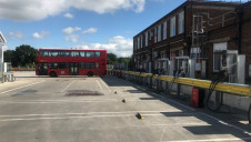 100 of Go-Ahead London's buses have been retrofitted with bi-directional charging technology