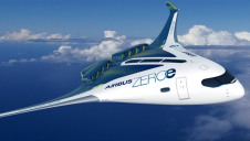 Pictured: The third ZEROe concept. Image: Airbus