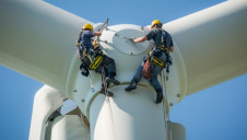 Job growth in the wind and solar sectors was found to be slower than for bioenergy