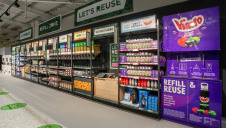 Pictured: Some of the name-brand refill stations. Image: Asda