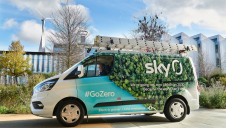 Sky's commitment will see its entire fleet of 5,000 vehicles transition to zero emissions by 2030