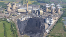 Pictured: Drax's power station in North Yorkshire, where two coal units will close later this year. Image: Drax/ A.Chadwick