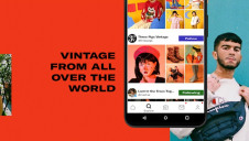 Depop has more than 26 million users, and 90% of them are aged 24 or under. Image: Depop