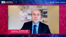 Before becoming an MP, Griffith held high-level roles at Sky and Just Eat