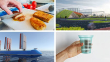 This month's innovations could have significant environmental benefits for sectors including maritime, aviation and packaging
