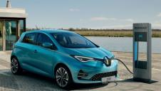 Pictured: The electric Renault Zoe
