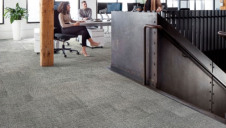 Pictured: One of the new 'Embodied Beauty' flooring styles in an office. Image: Interface