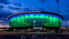 Pictured: The SSE Hydro Arena in Glasgow, where COP26 will take place this November