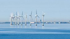 Pictured: Offshore wind turbines near Copenhagen
