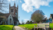 Pictured: St Andrew's Church, a Church of England location in Surrey
