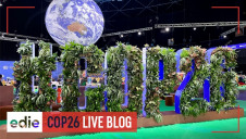 edie brings you the latest developments, pictures and videos LIVE from the ground at COP26
