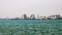 Bandar Abbas is a port city in the south of Iran