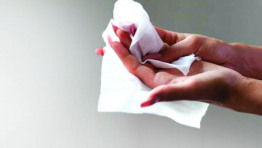 90% of the 11 billion wipes sold in the UK each year contain plastic content