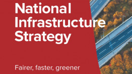 "The 100-page report outlines the Government's intention to ""deliver an infrastructure revolution"" that is tied to net-zero"