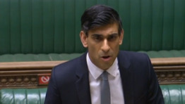 "Chancellor Rishi Sunak used his 2021 Budget statement to reiterate the Government's ""real commitment to green growth"". Image: Parliament Live TV"