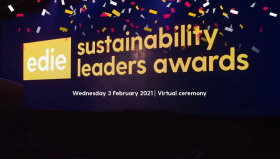 Join us at the online edie Sustainability Leaders Awards Wednesday 3 February 2021! Cost is £50+VAT per ticket