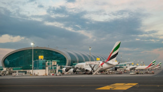 Dubai Airport is the world's busiest international airport, with 90 million passengers annually