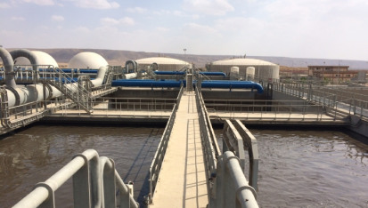 New Cairo wastewater treatment plant was delivered by FCC Aqualia and Orascom in 2017, and is a United Nation benchmark case study for water public-private partnerships