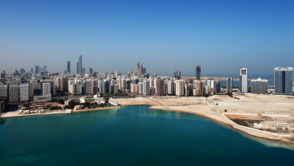 The new mega desalination plant will supply the populations of Abu Dhabi city, and the Northern Emirates